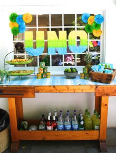 Uno Fiesta First Birthday Party