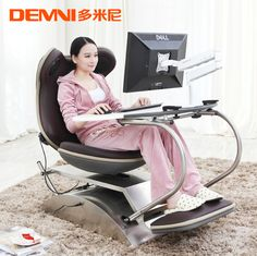 Domini versatile fashion casual computer chair massage chair furniture  one desktop computer