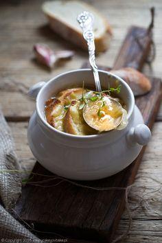 francuska zupa cebulowa, French onion soup #zupa #cebula #soup #onion