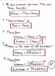 Women = Problems ;)