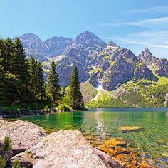 Morskie Oko lake in Tatra Mountains,Poland