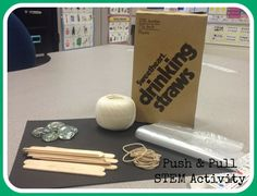 Push and Pull STEM Activity for first grade