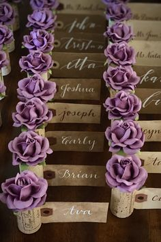 Finding your seat has never been more beautiful!  Amaze your wedding guests with custom Place Card Holders by Kara's Vineyard Wedding.  Available in 28+ custom colors and FREE shipping within the US ($25 min. order) #seatingchart #mealmarker #placecards #winetheme Wedding Places, Wedding Place Cards, Name Card Holder, Place Card Holders, Nice Handwriting, Wedding Aisle Decorations, Blooming Rose, Seating Chart Wedding, Take A Seat