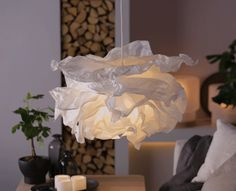 Luminaires lighting on pinterest mini pendant hudson valley and lampshades - Ikea abat jour suspension ...