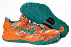 Mens Nike Zoom Kobe 8 VIII Lifestyle Orange/Green On Sale,nice shop to get cheap kobe 8 Kobe 8 Shoes, Kobe Bryant Shoes, Nike Kobe Bryant, Cheap Jordan Shoes, Cheap Shoes, Nike Factory Outlet, Nike Outlet, Nike Shoe Store, Girls Basketball Shoes