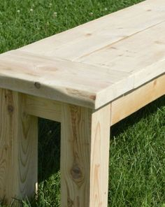 How to Make DIY Rustic Bench | Woodworking Session