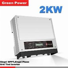 [ $86 OFF ] Gw2000-Ns Goodwe Solar Inverter,2000W Solar Power Inverter, Mppt Voltage 80-400Vdc Converter To 230V Pure Sinve Wave Output
