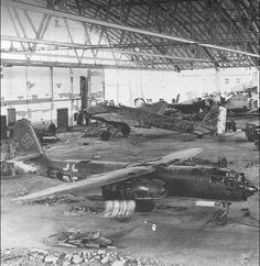 Arado Ar 234 and Junkers Ju 88