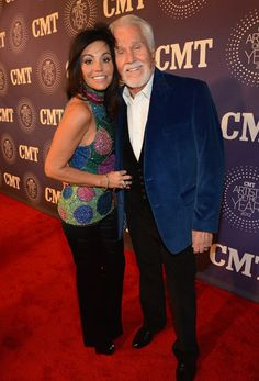 Kenny Rogers and his wife Wanda at the 2012 CMT Artists of the Year! Join us this Saturday at 10/9c for the show: http://at.cmt.com/fP9CI #CMTAOTY