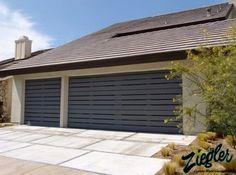 C H I Overhead Doors Model 5916 Long Panel Steel