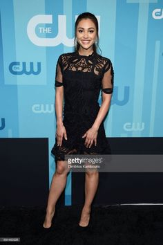 Lindsey Morgan attends the 2017 CW Upfront on May 18, 2017 in New York City.