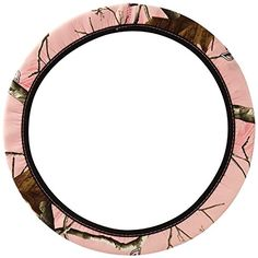 Mossy Oak Pink Camo Print Car Truck SUV Neoprene Steering Wheel Cover -- Details can be found by clicking on the image.