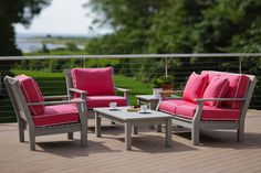Seaside Casual Adirondack Deep Seating. Available from Rich's for the Home http://www.richshome.com/