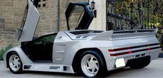 1993 Vector W8 Rear