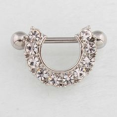 Retail 2 pieces/lot Nipple ring Woman body Piercing jewelry 14G 316L surgical steel bar Nickel- shipping TAIERS