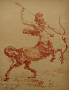 Le Centaur Chiron by Armand Point