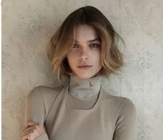 Short hair ombre