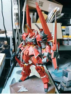 """Custom Build: HGUC 1/144 Bawoo """"Kit bash"""" - Gundam Kits Collection News and Reviews"""