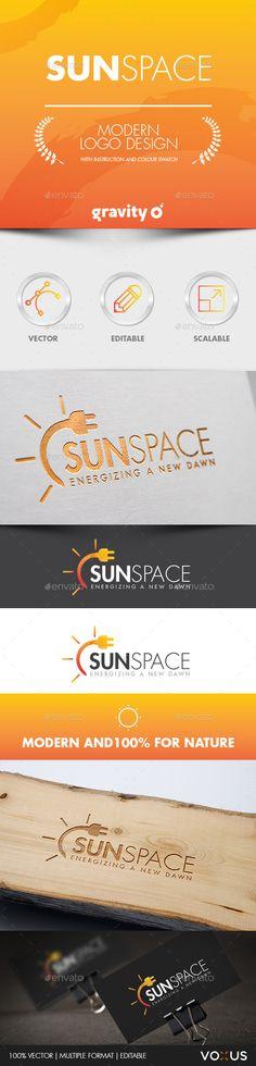 Sun Space Logo - Logo Templates