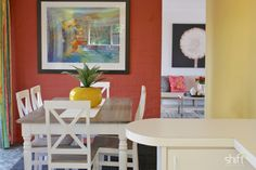 Property styled dining room, Kingston, Hobart