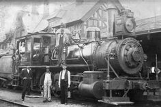 Class R, switching steam engine #397 with swallow tail tank. Built in 1893.