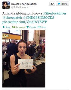 I haven't even seen season three yet and I already think Amanda Abbington is amazing!!!