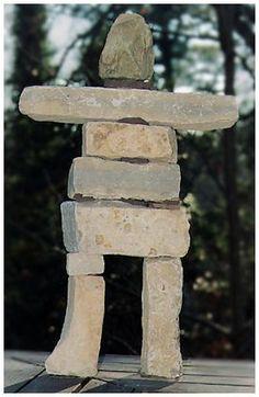 Eskimo Rock Sculpture