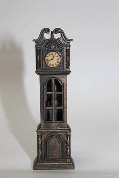 レアレトロ希少アンティーク柱時計の鉛筆削り外国製 Watch wall clock ¥500yen 〆04月09日