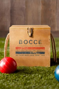 bocce ball set. summer must have.