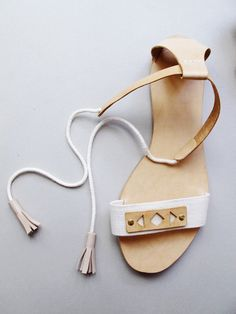 DIY Leather Sandals Tutorial