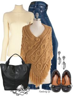 """Shawl On Me"" by kimberly-lp on Polyvore"