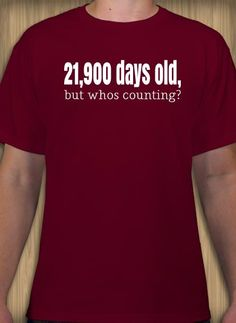 1be755dd 60th birthday t-shirt design idea and template. Customize t-shirts online.