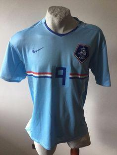 Huntelaar olanda football shirt trikot jersey vintage maglia calcio nike