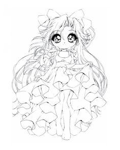 princess venus by sureyadeviantartcom adult coloring pagescoloring bookcolouringdigi - Coloring Pages Anime Princesses