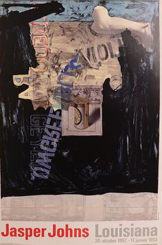 JASPER JOHNS Louisiana, 1993 Lithograph Paper size: 39.1/2 x 26 inch Images size: 39.1/2 x 26 inch very good condition