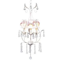 Jubilee Collection Pear 3 Light Chandelier with Bulb Cover Finish: