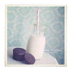 Oreos & Milk by Andrea McClain #pastels #shabbychic