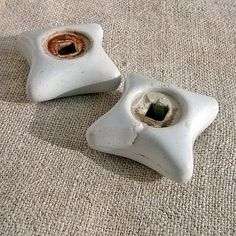 Vintage water valve Retro ceramics faucet handles by MyWealth