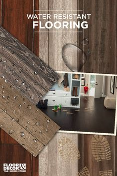 The latest in water resistant technology. Explore these flooring options...