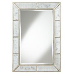 Large Rectangular Wall Mirror large gold floor mirror leaning against wall with bench and aloe