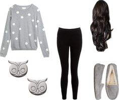 """""""Cute lazy outfit 3"""" by maddiluvsu ❤ liked on Polyvore"""