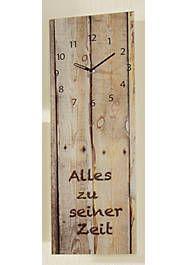 Wanduhr, Eurographics, »Step By Step«, 20/60 cm - Wohnen Shops, Clock, Wall, Home Decor, Home Decor Accessories, Ad Home, Homes, Schmuck, Dekoration