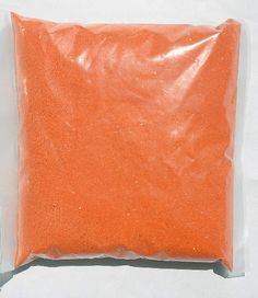 6.00 SALE PRICE! Sandsational ~ Tangerine Orange Shimmer Unity Sand ~Fine & Soft flowing with a natural sparkle from the earth, this will add elegance to you...