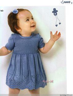 Doll dress - woven happiness - happiness knitting blog