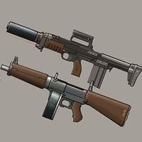 here are some rough concepts for mods for fallout weapons I've designed, no real gameplay ideas behind them but was a focus on visuals. Fallout Weapons, Zombie Weapons, Fallout Concept Art, Weapon Concept Art, Funny Gaming Memes, Steampunk Weapons, Homemade Weapons, Gun Art, Military Weapons