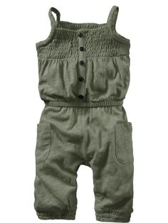 Old Navy | Long Slub-Jersey Rompers for Baby