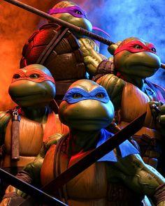 Teenage Mutant Ninja Turtles by @adrien_vallecilla