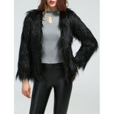 $30.05 Faux Fur Slimming Coat