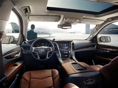The next generation 2015 Escalade. Take a look inside! #Cadillac #Caddie #Rvinyl http://www.rvinyl.com/Cadillac-Accessories.html