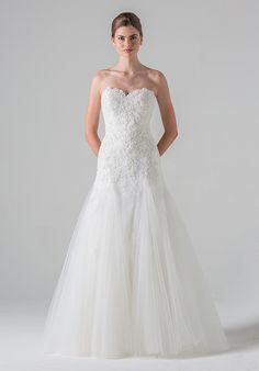 Blue Willow Bride by Anne Barge Ivy Mermaid Wedding Dress